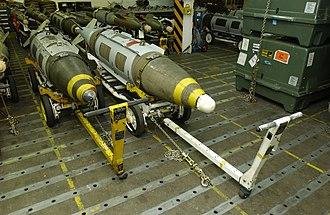 Joint Direct Attack Munition - DSU-33 Airburst sensor (right)