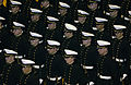 US Navy 031121-N-9693M-001 U.S. Naval Academy Midshipmen stand at parade-rest.jpg