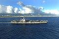 US Navy 040706-N-5923E-054 The Nimitz-class aircraft carrier USS John C. Stennis CVN 74 departs Pearl Harbor, Hawaii.jpg