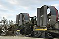 US Navy 050906-N-1467R-069 A U.S. Marines Corps front-end loader is driven off a U.S. Navy Landing Craft, Air Cushion (LCAC) onto a beach near Biloxi, Miss.jpg