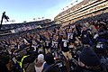 US Navy 071201-N-5549O-192 U.S. Navy Midshipmen celebrate after a 38-3 win over the Black Knights of West Point, following the 108th playing of the Army vs. Navy football game.jpg