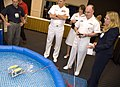 US Navy 080812-N-7676W-104 Vice Adm. John C. Harvey Jr., director, Navy Staff, operates Sea Perch during his visit to the exhibit hall at the Office of Naval Research 2008 Science and Technology Partnership Conference.jpg