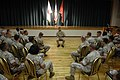 US Navy 090630-N-9818V-250 Master Chief Petty Officer of the Navy (MCPON) Rick West speaks with Sailors during an all-hands call at Camp Hansen.jpg