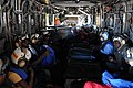 US Navy 100122-N-7456N-111 American Red Cross volunteers board an MH-35E Sea Dragon helicopter bound for Haiti.jpg