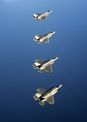 33rd Fighter Wing - RAF, USAF, USMC and USN F-35s in May 2014