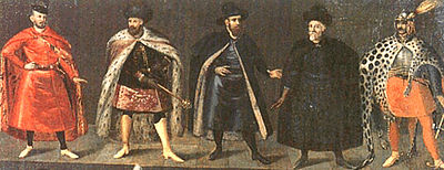 Polish noblemen, early 17th century.
