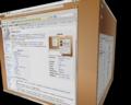 Ubuntu Feisty Compiz Cube.png