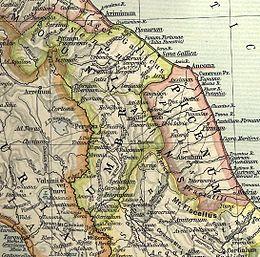 Umbria Marche Cartina.Umbri Wikipedia