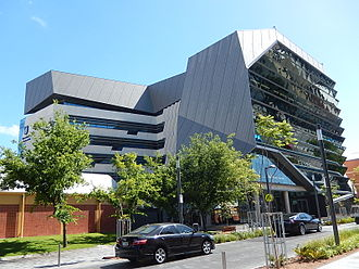 University of South Australia - Learning Centre, city west campus