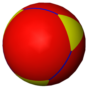 Spherical polyhedron - Image: Uniform tiling 332 t 01 1