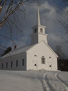 Union Meeting House (Burke, Vermont) United States historic place
