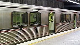 Purple Line (Los Angeles Metro) - Metro Purple Line at Union Station.