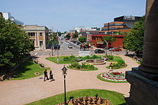 University Avenue from Province House. Charlottetown, Prince Edward Island, Canada.jpg