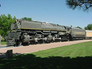 Union Pacific 3977 - Image: Up 3977