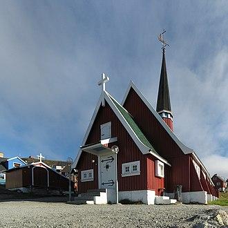 Upernavik - The new church in Upernavik