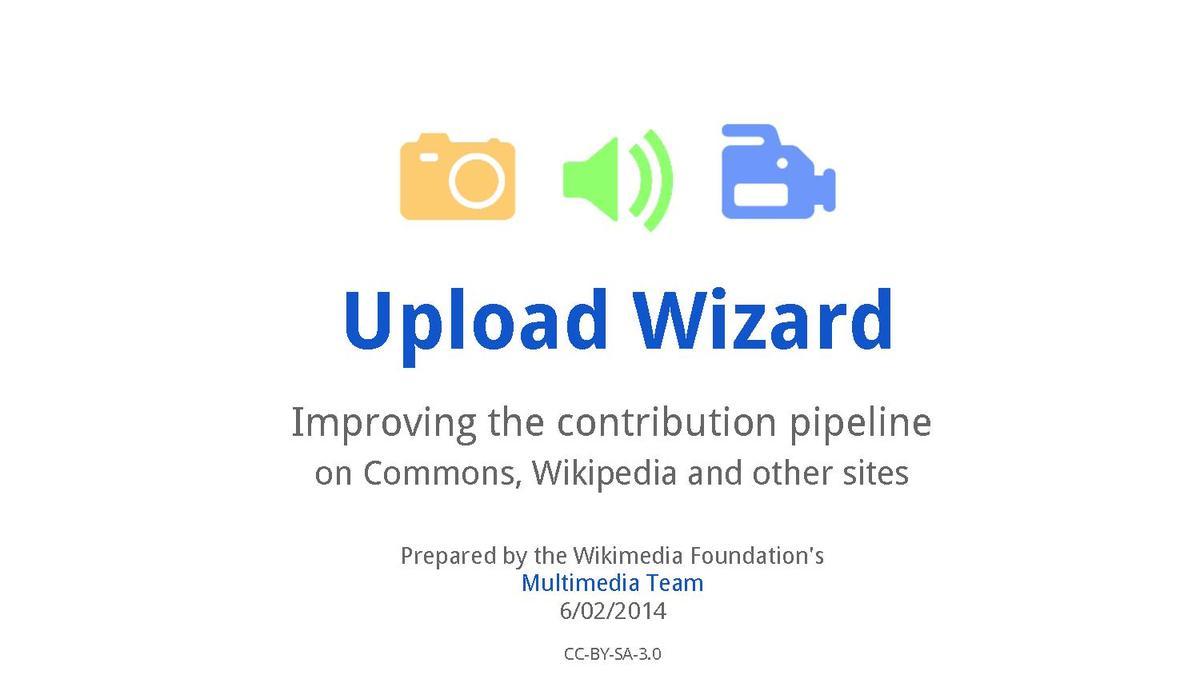 UploadWizard - MediaWiki