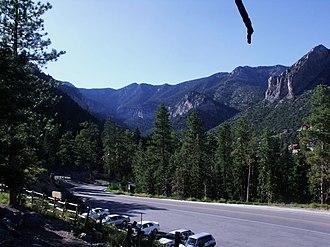 Spring Mountains - Image: Upper Kyle Canyon SMNRA