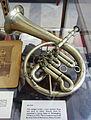 Upright cornet, Isaac Fiske, Worcester MA, c. 1852 - Bennington Museum - Bennington, VT - DSC08630.JPG