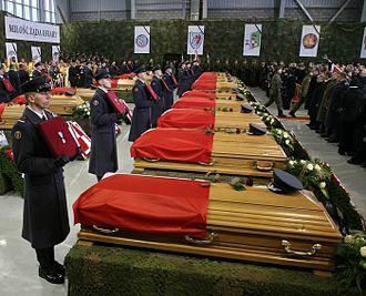 2008 Polish Air Force C-295 Mirosławiec crash - State funeral of the crash victims