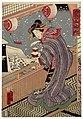 Utagawa Kunisada II - Courtesan on Balcony in Snow.jpg
