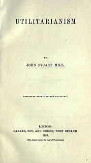 <i>Utilitarianism</i> (book) book