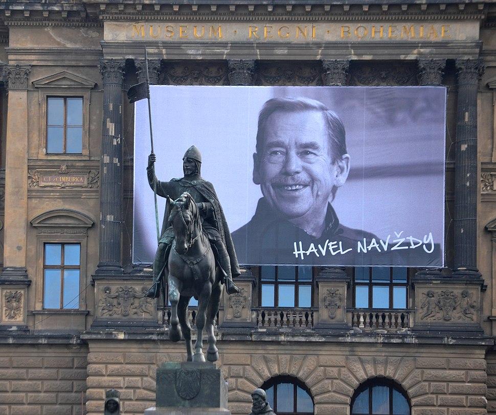 Václav Havel 2014 Václavské náměstí