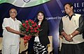 V. Kishore Chandra Deo felicitating Smt. Mary Kom, the London Olympic Bronze Medal winner in Women's Flyweight Boxing, at a function, in New Delhi. The Minister of State for Tribal Affairs.jpg