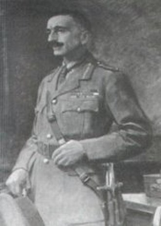 Siege of Malakand - Edmund William Costello in later life as a Brigadier-General