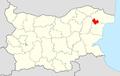 ValchiDol Municipality Within Bulgaria.png