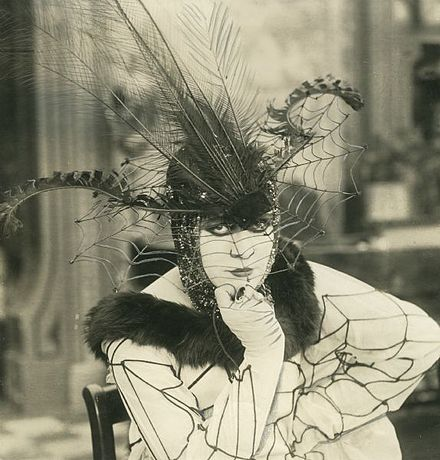 At one time a popular player at Fox, all of Valeska Suratt's Fox films are lost. Valeska Suratt 1917.jpg
