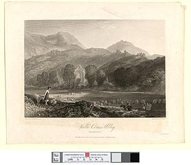 Valle Crucis Abbey, Denbighshire