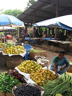 Vasco da Gama, Goa - Image: Vasco's Fish and Produce Market 2