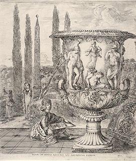 Medici Vase Roman era ornamental garden vase