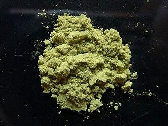 Vaska's complex - Image: Vaska's complex sample