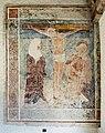 Velden Oberjeserz Filialkirche hl. Michael Vorhalle Kreuzigungsfresko 11052020 8953.jpg