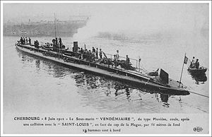 French submarine Vendémiaire - Image: Vendemiaire ELD