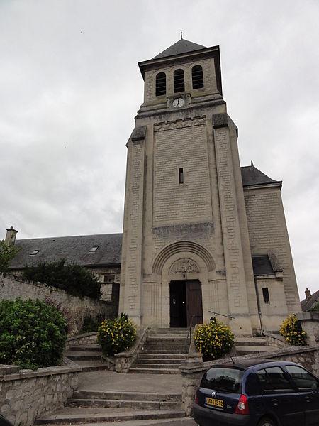 Venizel (Aisne) église Saint-Crépin et Saint-Crespinien