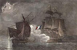 Jacques Félix Emmanuel Hamelin - Fight of Vénus and Ceylon