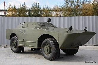 Scout car - Image: Verkhnyaya Pyshma Tank Museum 2012 0187