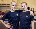 Veronica Wagner och Jonna Adlerteg till EM i Berlin 2011.jpg