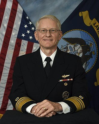 Judge Advocate General of the Navy - Image: Vice Adm. John G. Hannink