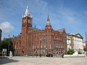 Victoria Building, University of Liverpool - Victoria Building, University of Liverpool