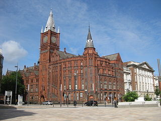 grade II listed architectural structure in Liverpool, United kingdom
