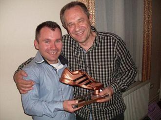 KMF Ekonomac - Vidan Bojović with Bronze Boot in 2012