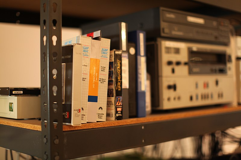Videocassettes and VCRs at Internet Archive.jpg