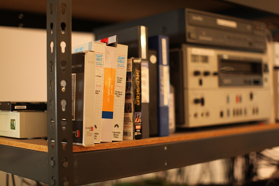 Videocassettes and VCRs at Internet Archive