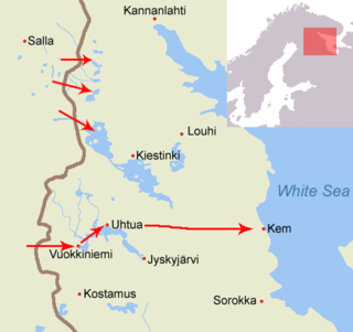 Viena expedition Attempt by Finnish volunteers to annex White Karelia in 1918