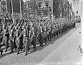 Viering van het 10 jarig bestaan van de NATO in Mainz met een militaire parade,, Bestanddeelnr 910-2734.jpg