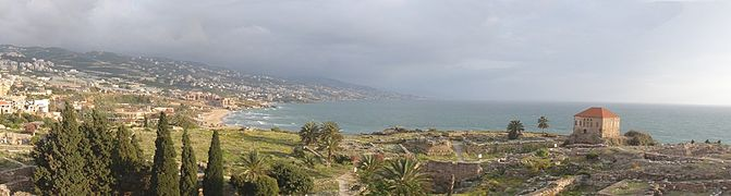 View from Byblos Castle.JPG
