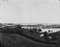 View from Georgetown heights, with Aqueduct Bridge and Mason's Island 04243v.jpg